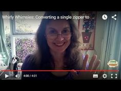 Whirly Whimsies: Converting a single zipper to a 2 way zipper easily, every time! - Also this method can make a long zipper into 2 small zippers with another zipper pull.