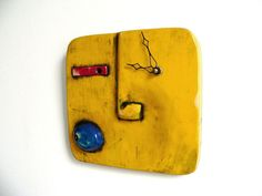 KloK Clock K01. $85.00, via Etsy. Love this glaze.