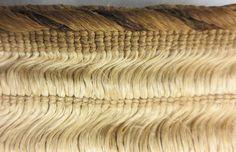 Detail of commencement edge Flax Weaving, Weaving Art, Big Basket, Maori Designs, Maori Art, Easter Island, Weaving Techniques, Fiber Art, Animal Print Rug
