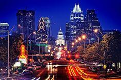 Austin's prettier than many cities