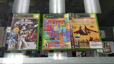 Star Wars: Battlefront II & Star Wars Clone Wars / Tetris Worlds - Xbox - CIB