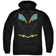 DC Comics - Black Lightning Adult Pull-Over Hoodie