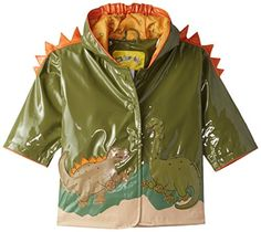 Kidorable Little Boys' Dinosaur All Weather Waterproof Coat *** See this great image @