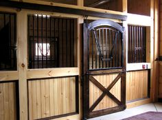 Horse stall. I'd love to own a horse ranch.