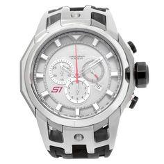 016120a38f2 Invicta 16811 Men s S1 Rally Steel   Grey Titanium Chronograph Black Strap  Watch