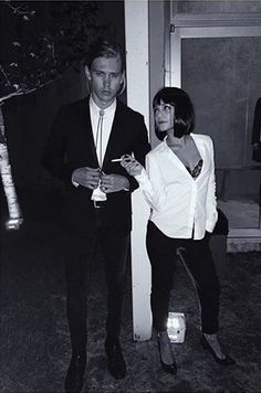 Austin Butler and Vanessa Hudgens as Pulp Fiction's Mia Wallace and Vincent Vega.   - TownandCountryMag.com