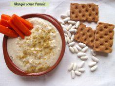 Una semplice salsa di fagioli, stile hummus, insaporita con le spezie orientali: si prepara in pochi minuti ed è perfetta come snack con cruditè o pane pita