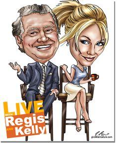 Regis Philbin & Kelly Ripa