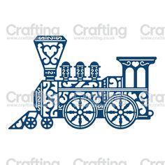 Tattered Lace Dies - Vintage Train