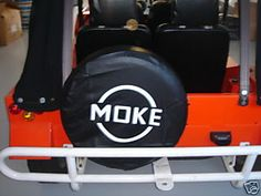 moke spare tyre cover