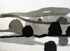 Guy MaestriHill End Study V, 2011ink on paper, 25 x 32cm