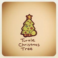 Turtle Christmas tree