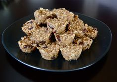 Vegan Toddler Granola Bites. Easy and so healthy!