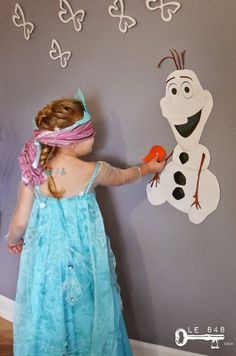 le 848 goter la reine des neiges frozen party