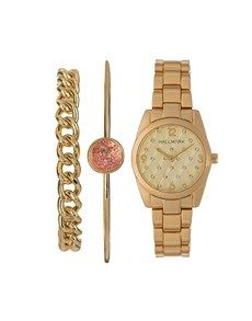 This is an absolutely perfect gift for mom this Mother's Day. The jewellery set is crafted from ion-plated yellow gold. Place your order today! Perfect Gift For Mom, Gifts For Mom, Mother's Day Online, Gold Box, Gold Watch, Rose Gold, Jewellery, Yellow, Accessories