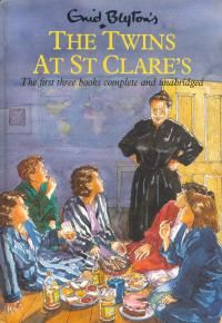 Enid Blyton's The Twins at St Clare's by Enid Blyton Good Books, Books To Read, My Books, Famous Five Books, Enid Blyton Books, St Clare's, Kids Book Series, Who Book, Vintage Children's Books