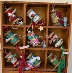 Art Makes Me Happy: Γούρια 2015-2016 Art Christmas Gifts, Christmas Kiss, Cowboy Christmas, Very Merry Christmas, Christmas Design, Handmade Christmas, Christmas Decorations, Xmas Ornaments, Xmas Tree