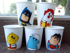 Cartoon Ceramic Mug