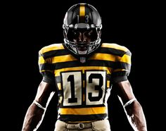 6549baee36 Nike Football - Pittsburgh Steelers Throwback Uniforms Distracted  Washington Redskins For A Win