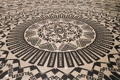 """""""Wheel of Everyday Life"""" installed at Rice Gallery 