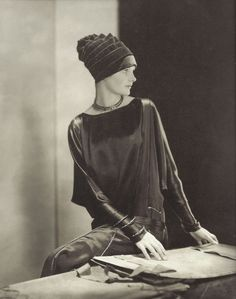 Marion Morehouse in Chanel, photo by Edward Steichen, 1924