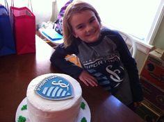 Birthday + Cake + A #SportingKC Win = #birthdaycakewin (via MeghanFlavin on Twitter)