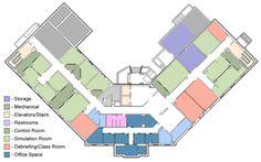 MUSC Simulation Lab Sim, Floor Plans, Layout, Flooring, How To Plan, Page Layout, Wood Flooring, Floor Plan Drawing, Floor