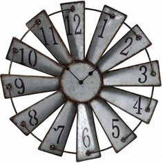 Red Shed Wall Clock, Windmill - Tractor Supply Co.