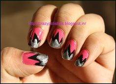 Tape Manicure: http://crazypolishes.blogspot.in/2012/05/copy-cat-lets-share-nail-art-challenge.html