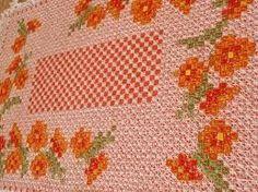 bordados em tecido xadrez - Pesquisa Google