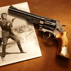 GUN OF THE DAY – Dirty Harry's Smith & Wesson .44 Magnum   Visit the NRA Booth at the Great American Outdoor Show to see the GOTD in person. To learn more about the show, visit: http://bit.ly/1C1Bqi7.