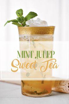 Mint Julep Sweet Tea Recipe