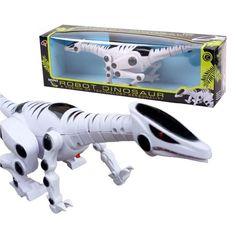 Freies Verschiffen Jungen Kinder Jurassic t-rex Große Elektrische Dinosaurier Mit Licht Sound Roboter Pädagogisches Beste Spielzeug Geschenke für kinder