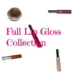 Full Lip Gloss Sample  Collection by MadeByMandikins on Etsy, $25.00