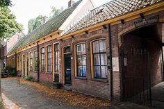 Middengasthuis (1873). Kleine Rozenstraat, Groningen. The Netherlands.
