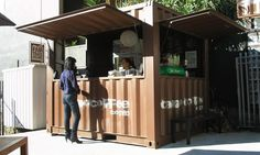 Hospitality & Tourism Container Buildings & Kiosks | Addis Containers | Auckland, New Zealand