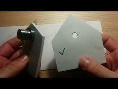 DIY Graver Templates For Sharpening Gravers - YouTube