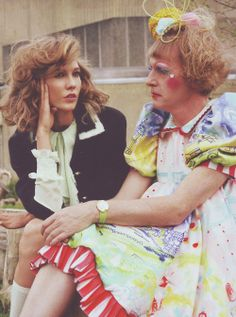 Karlie Kloss and Grayson Perry photographed by Max Farago for Vogue UK July 2014 Grayson Perry, Gender Roles, Vogue Uk, Karlie Kloss, Bae, Collection, Fashion, Moda, Fashion Styles