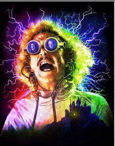RIP you crazy genius, Gene Wilder, Young Frankenstein.