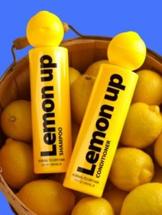Though the may be gone forever, the memories and great hair live on with LemonUp Shampoo and Conditioner, still made with the juice of one whole lemon.