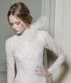 lavandula:  Frida Gustavsson Backstage at Valentino Haute Couture S/S 2011