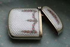Vintage Sterling Silver and Guilloche Enamel by BermudaVintage