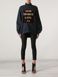 c3ddc64e82cc Lej denne Acne Beta Sweatshirt for kun 50 kr. om dagen på RentAtrend.