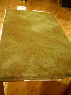 miniature tutorials -- gaming board, yard or train set landscape.