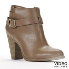 #LCLaurenConrad Ankle Boots