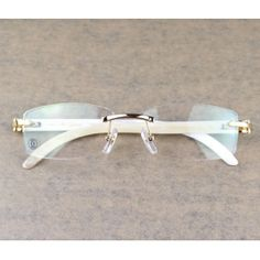 ab89802564c white buffalo horn cartier glasses.. hard as shit.. - Sale! Up