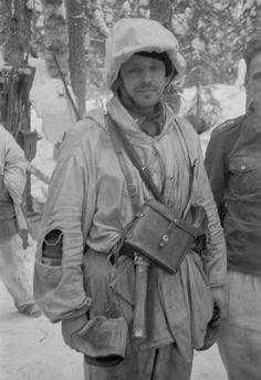 Lieutenant Leinonen. Kollaanjoki, 1940.03.13 Winter War