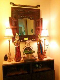 Indonesian Home Accents from Gado Gado.