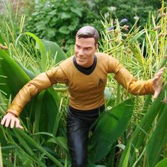 Diamond Select Captain Kirk Action Figure 2013 Star Trek