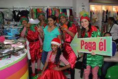 EN SU ULTIMO DÍA DE VISITA LOS DUENDES estuvieron en el Almacén #Lollipop y escogieron a la Señora MARCELA GARCIA APARICIO !!!  Mil Felicitaciones.  Una Navidad diferente solo aquí en ALAMEDAS CENTRO COMERCIAL.